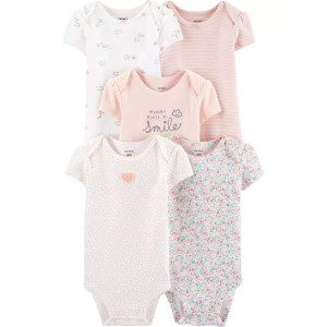 Боди Carters Floral Ivory