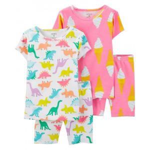 Пижама для девочки Carters Dinosaur
