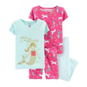 Пижама с коротким рукавом Carters Mermaid