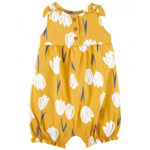Песочник Carters Floral Yellow