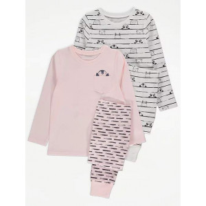 Пижама George Pink Penguin