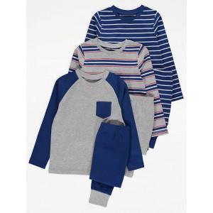 Пижама George Navy Striped