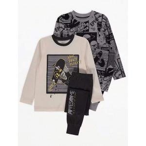 Пижама George Grey Skate