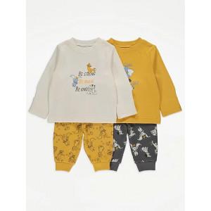 Пижама хлопковая George Disney Yellow