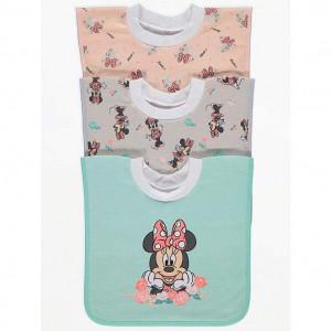 Слюнявчик хлопковый George Minnie Mouse