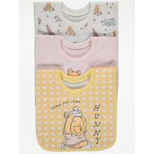 Слюнявчики 3-шт George Winnie the Pooh Yellow