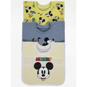 Слюнявчики 3-шт George Mickey Mouse