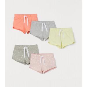 Шорты H&M Light pink/Patterned