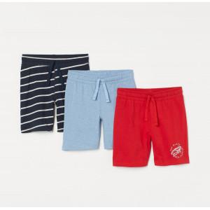 Шорты H&M Navy blue/Red