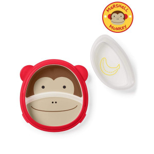 Тарелка учебная Skip Hop Monkey